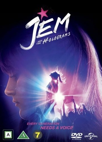 Jem and the Holograms DVD UTGÅENDE