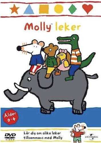 Molly leker DVD Vol 7 Molly mus UTGÅENDE