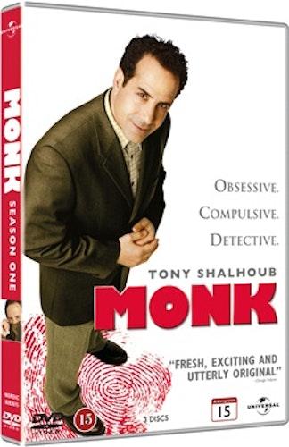 Monk - Säsong 1 DVD UTGÅENDE