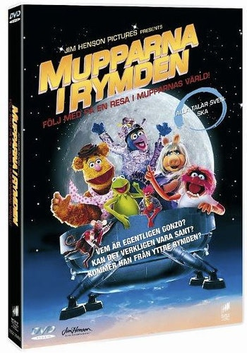 Mupparna I Rymden DVD UTGÅENDE