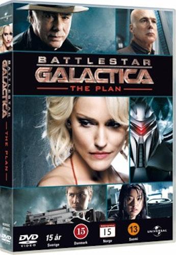 Battlestar Galactica: The Plan DVD UTGÅENDE