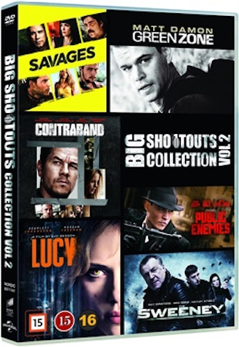 Big Shootouts Collection - Vol. 2 DVD (box med 6 filmer) UTGÅENDE