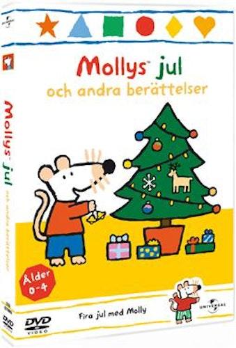 Mollys jul Vol 9 Molly mus  DVD UTGÅENDE
