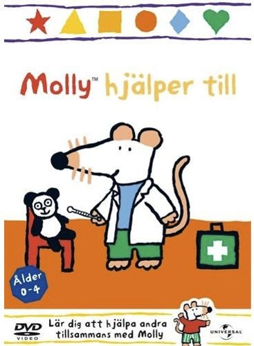 Molly hjälper till Vol 2 DVD UTGÅENDE Molly mus