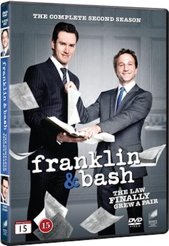 Franklin & Bash - Säsong 2 DVD UTGÅENDE