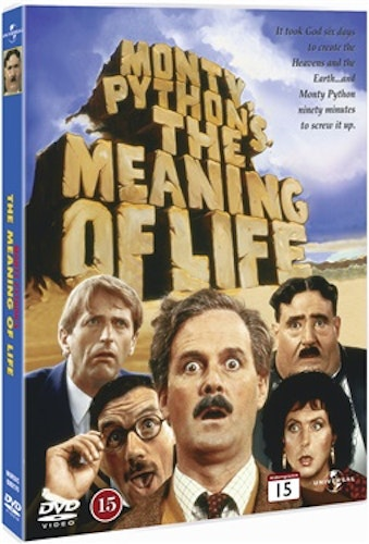 Monty Python's: The Meaning of Life DVD UTGÅENDE