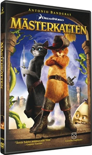 Mästerkatten DVD UTGÅENDE