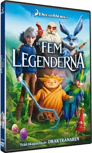 De fem legenderna/Rise of the Guardians DVD UTGÅENDE