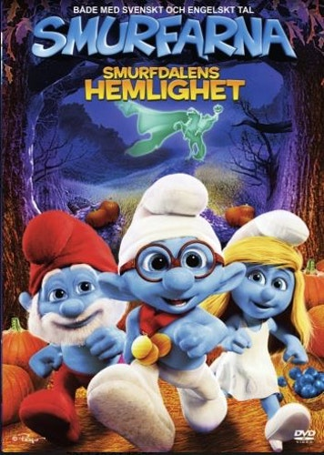 Smurfarna - Smurfdalens Hemlighet/Smurfy Hollow DVD UTGÅENDE