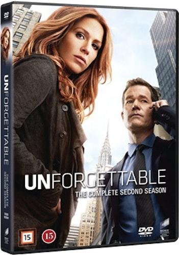 Unforgettable - Säsong 2 DVD UTGÅENDE