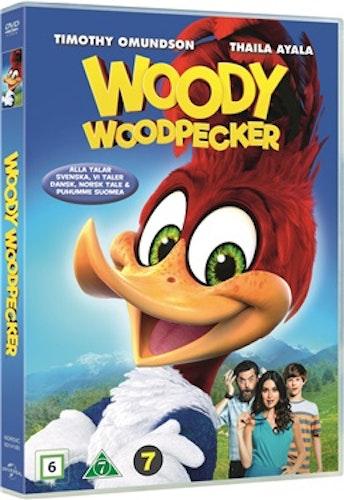 Woody Woodpecker / Hacke Hackspett DVD UTGÅENDE