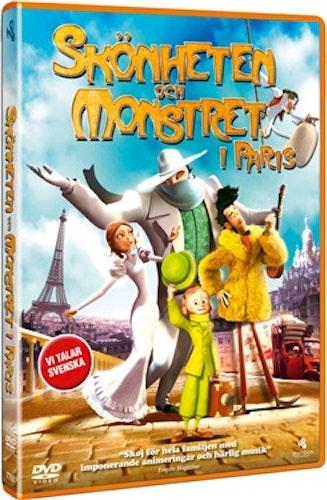 Skönheten och monstret i Paris DVD UTGÅENDE