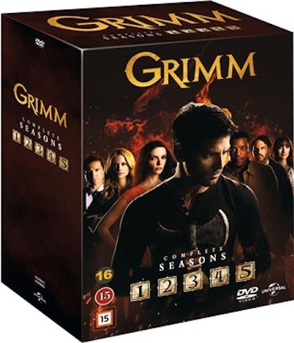 Grimm - Säsong 1-5 DVD