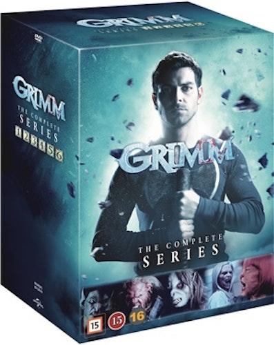 Grimm - Säsong 1-6 DVD