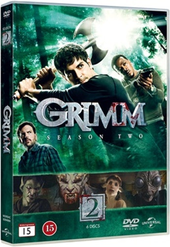 Grimm - Säsong 2 DVD