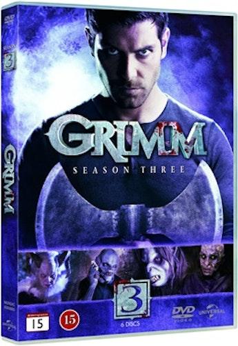 Grimm - Säsong 3 DVD