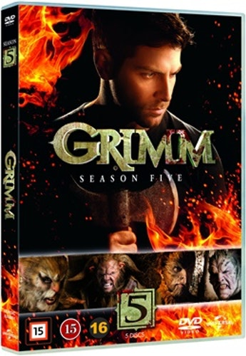 Grimm - Säsong 5 DVD