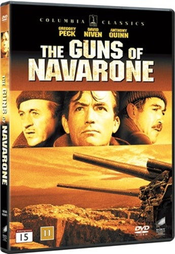 Kanonerna På Navarone DVD