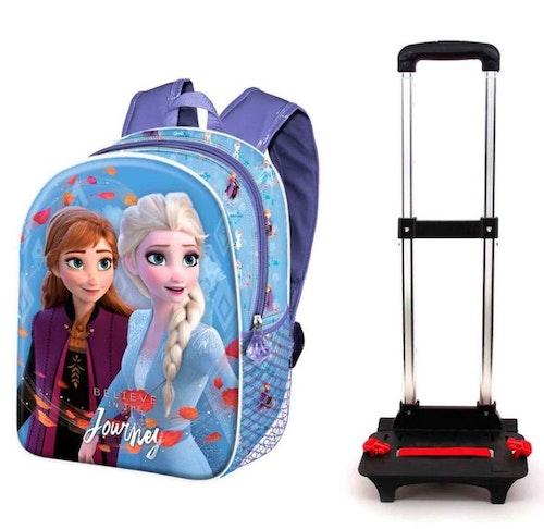 Disney Frost 2 rullväska 48cm Anna och Elsa