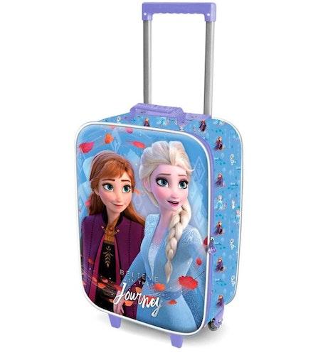 Disneys Frost 2 Rullväska med 3D motiv Anna och Elsa