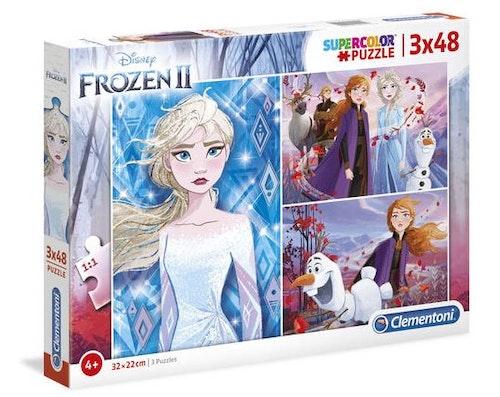 Pussel Disneys Frost 2 3x48 bitar