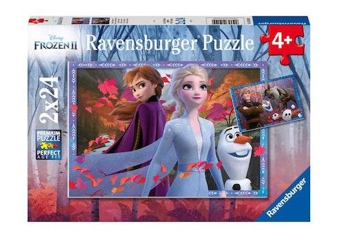 Pussel Disneys Frost 2 2x24 bitar
