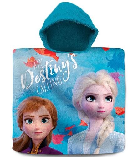 Poncho Frost 2 Elsa och Anna