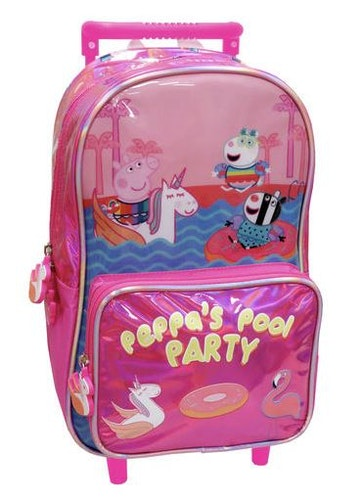 Greta Gris Pool Party rullväska 39cm