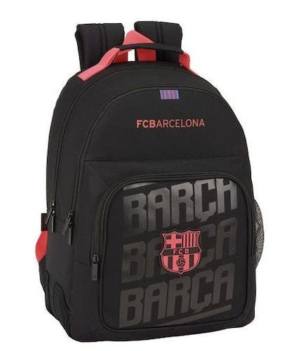 F.C Barcelona Black svart ryggsäck 42cm