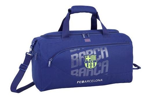 F.C Barcelona blå sportbag 50cm