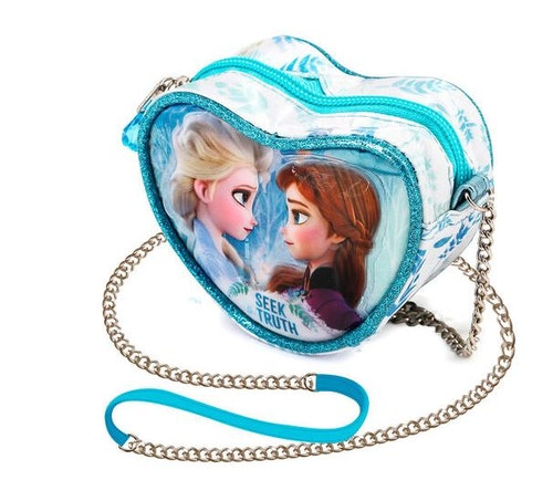 Hjärtformad handväska Frost 2 - Elsa och Anna