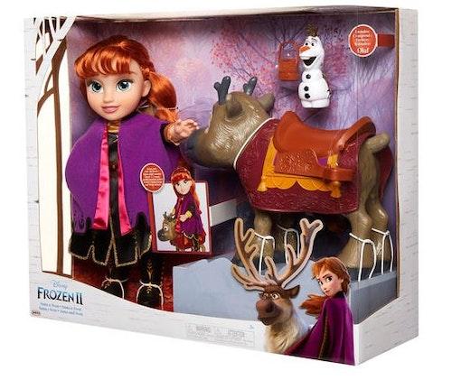 Disney Frost 2 Anna & Sven & Olof set dockor