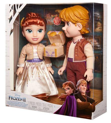Dockor från Disneys Frost 2 - Anna och Kristoffer