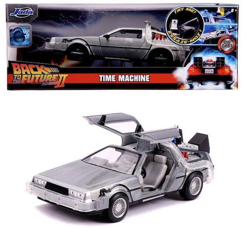 Tillbaka till framtiden - DLorean Time Machine metallbil