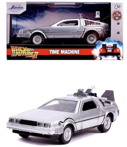 Back to The Future DLorean Time Machine metallbil