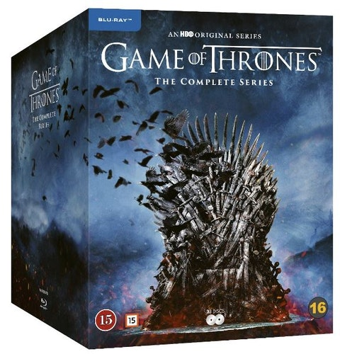 Game of Thrones - The Complete Säsong 1-8 bluray