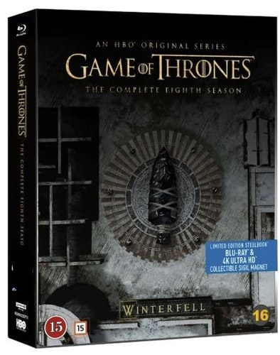 Game of Thrones - Säsong 8 - SteelBook (UHD+BD)