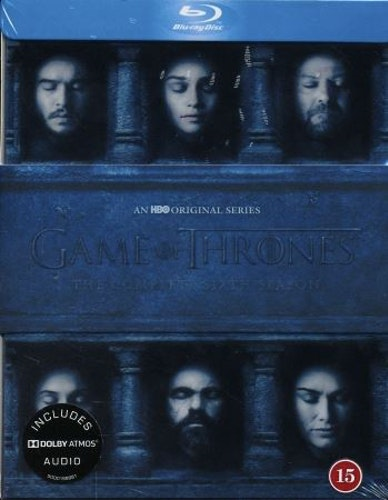 Game of Thrones - Säsong 6 bluray
