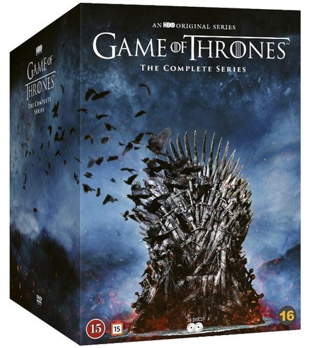 Game of Thrones - The Complete Series 1-8 DVD