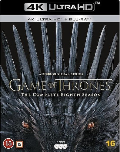 Game of Thrones - Säsong 8 4K (UHD+BD)