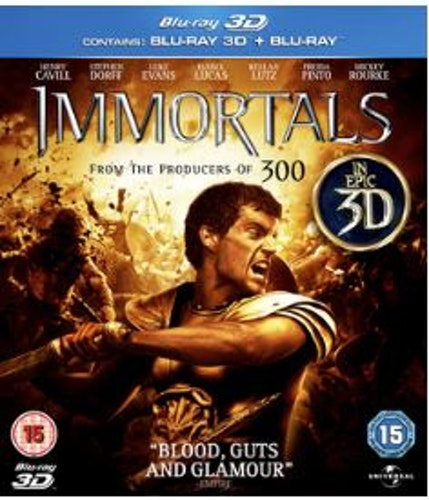 Immortals 3D (Blu-ray) (Import)