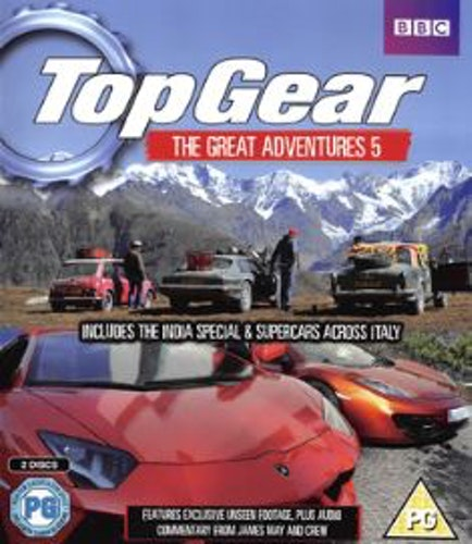 Top Gear - Great Adventures 5 (Blu-ray) (Import)
