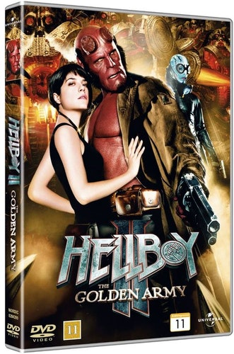 Hellboy 2: The Golden Army DVD