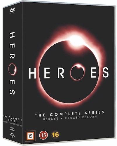 Heroes säsong 1-4 +Reborn DVD