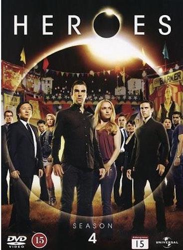 Heroes - Säsong 4 DVD