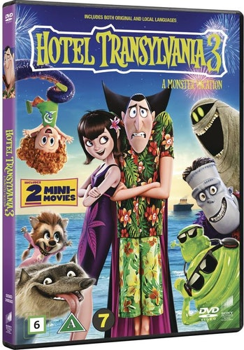 Hotell Transylvanien 3: En Monstersemester DVD