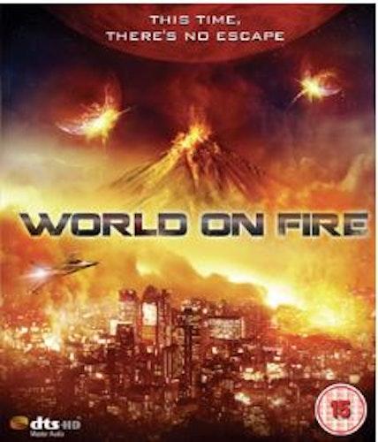 World On Fire Blu-Ray (import)