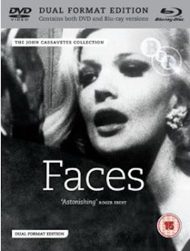 Faces (Blu-ray+DVD) (Import) från 1968