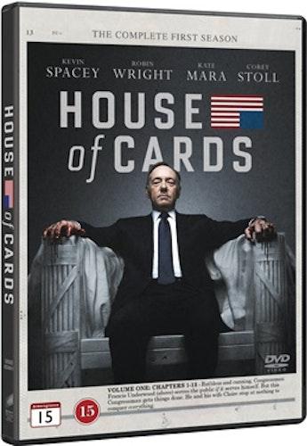 House of Cards - Säsong 1 DVD
