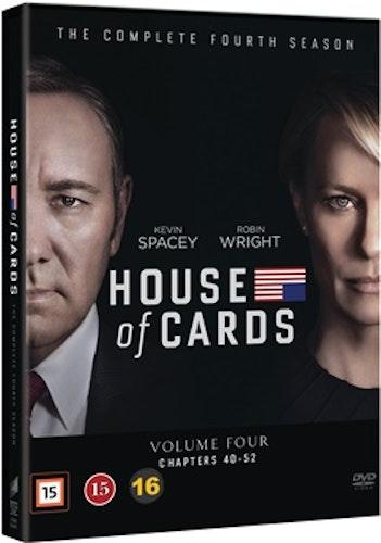 House of Cards - Säsong 4 DVD